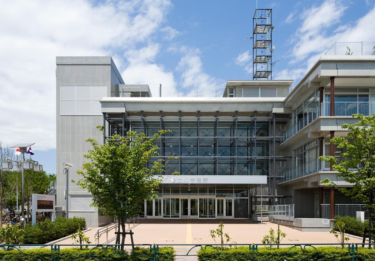 立川市庁舎 – 野沢正光建築工房